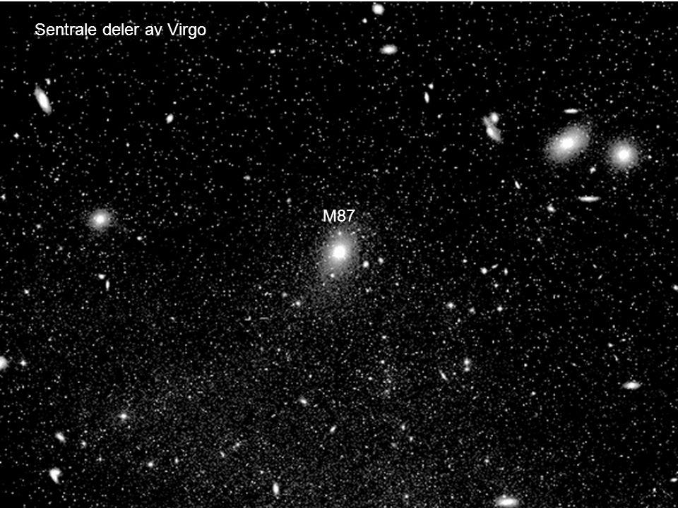 AST1010 - Galakser26 Sentrale deler av Virgo M87