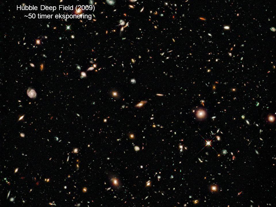 AST1010 - Galakser29 Hubble Deep Field (2009) ~50 timer eksponering