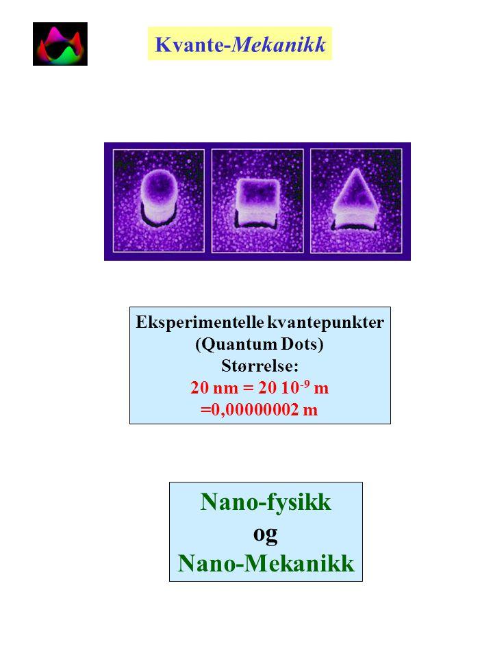 På veg mot kvantedatamskinen Forminsking av kretslementer 1975 til.....