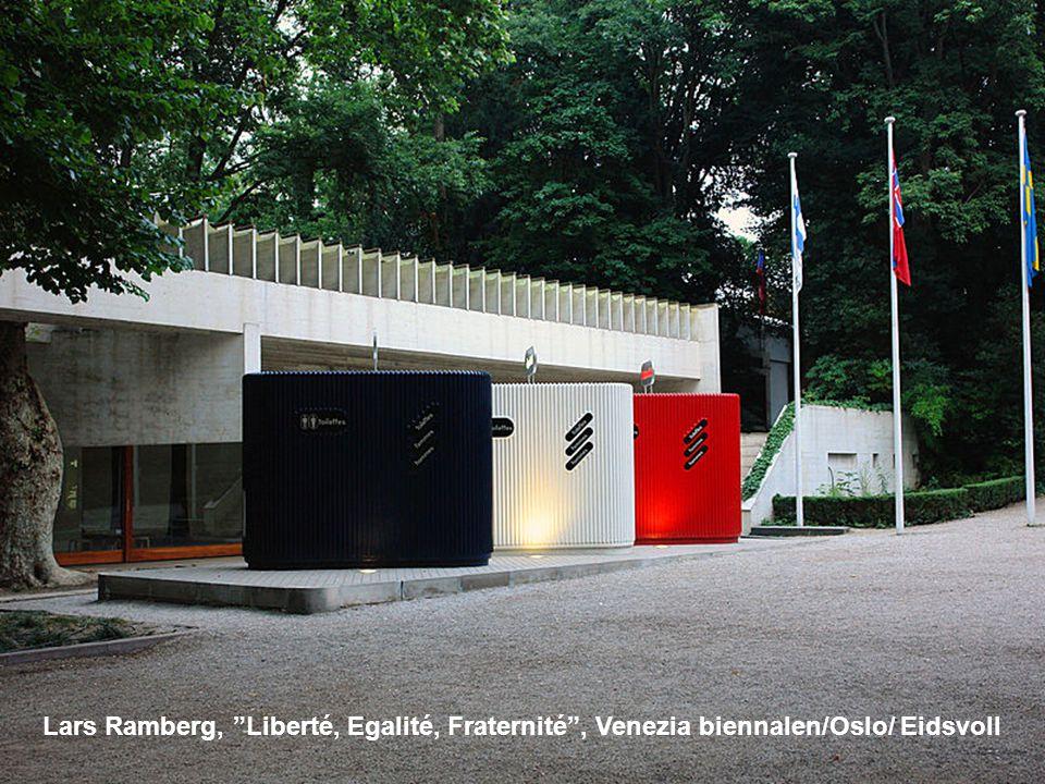 "Lars Ramberg, ""Liberté, Egalité, Fraternité"", Venezia biennalen/Oslo/ Eidsvoll"