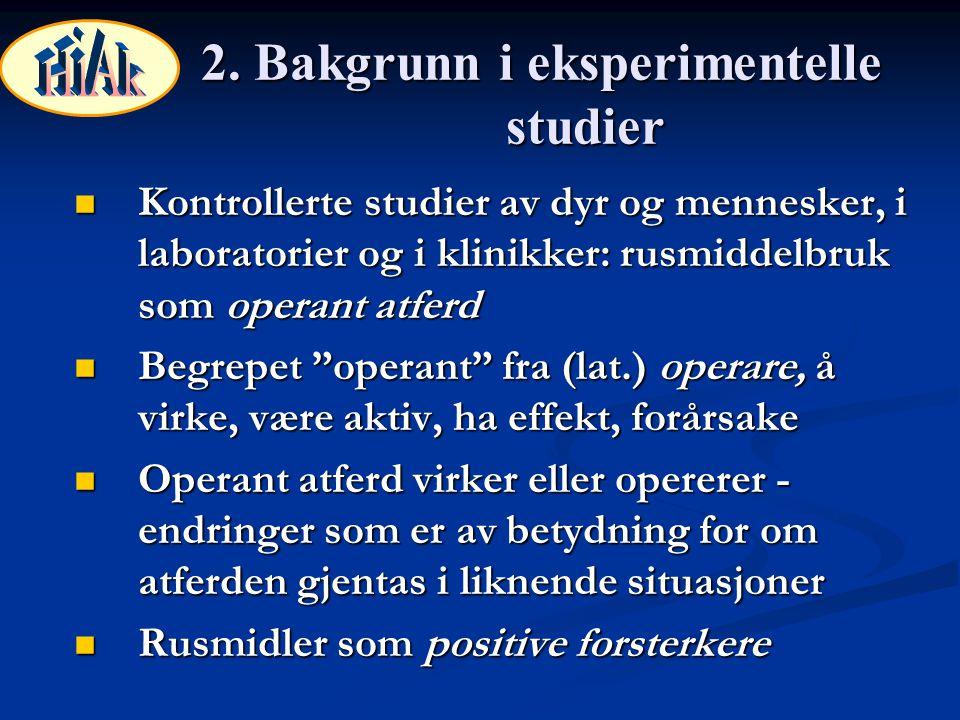 28.Opplegg ved terapeutiske arbeidsplasser (Silverman et al., 2001) 1.