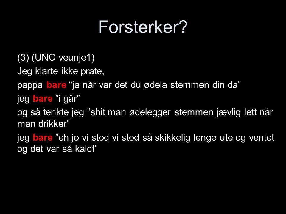 Forsterker.