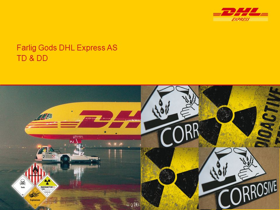 Farlig Gods DHL Express AS TD & DD
