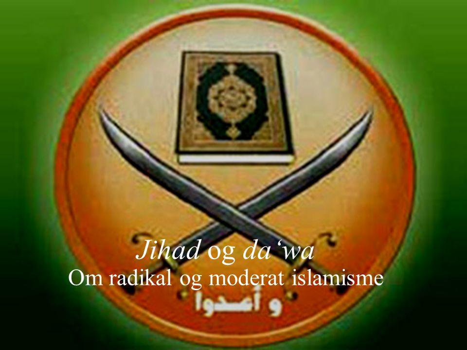Forholdet til modernitet Ikhwan- tendens mot salafi-tendens Det muslimske brorskap (al-ikhwan al-muslimun): Ektefødt barn av islamsk modernisme (Afghani/Abduh), opptatt av sosial, økonomisk og politisk utvikling Salafiyya-grupper: Knyttet til førmoderne, til dels antimoderne, reformtenkning (som Muhammad ibn Abd al-Wahhab) Primært opptatt av å fordømme ethvert avvik fra det som ses som sann islamsk praksis fra Profetens tid.