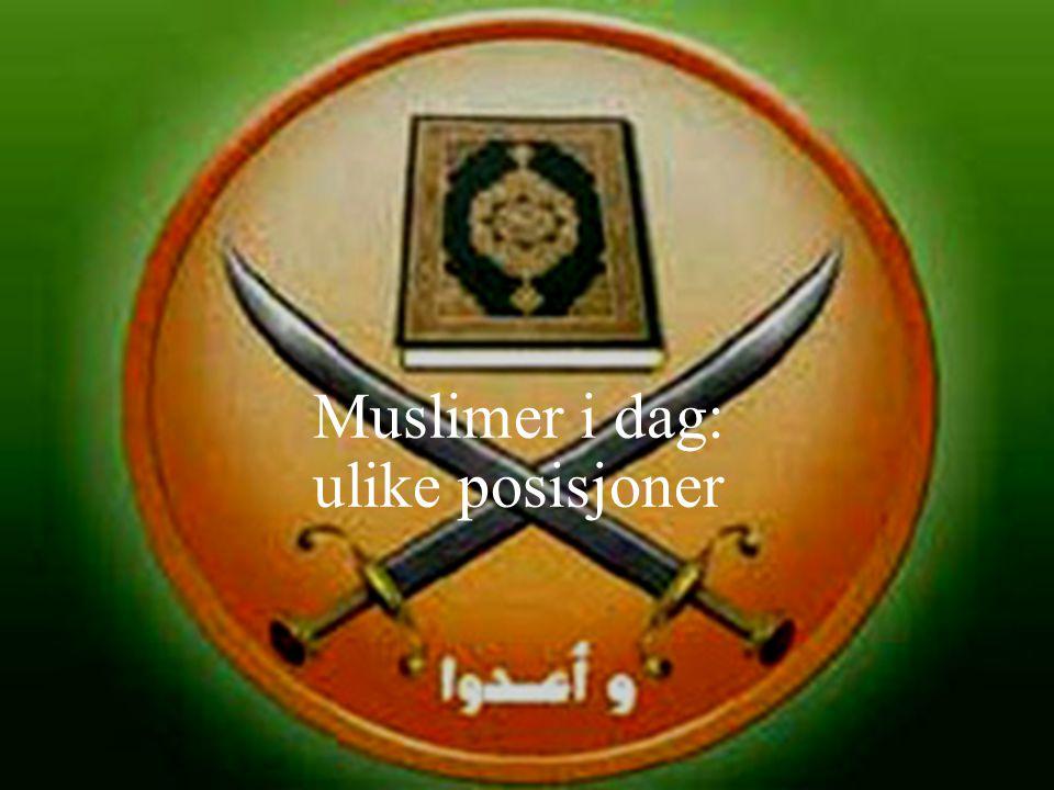 Islamister og terror Moderate islamister fordømmer stort sett terrorhandlinger.