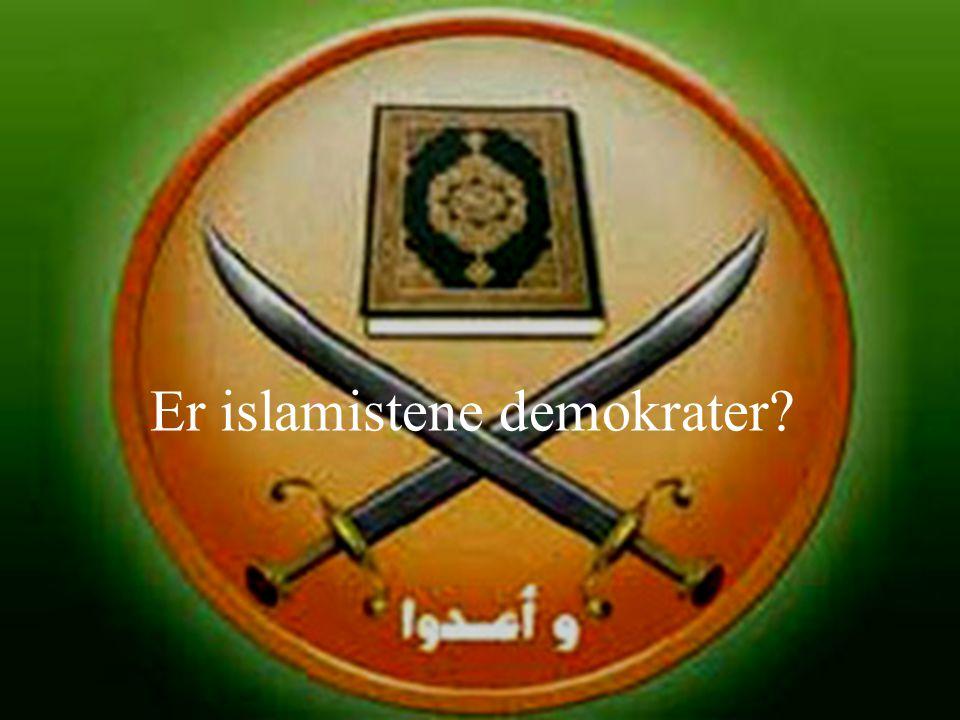 Er islamistene demokrater?
