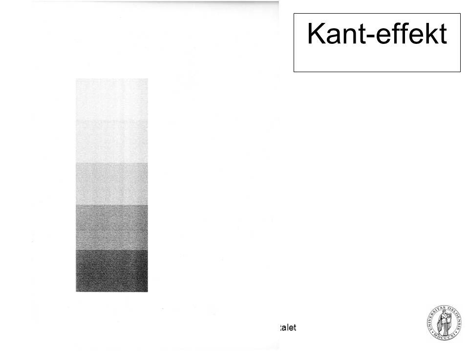 Fysisk institutt - Rikshospitalet 33 Kant-effekt