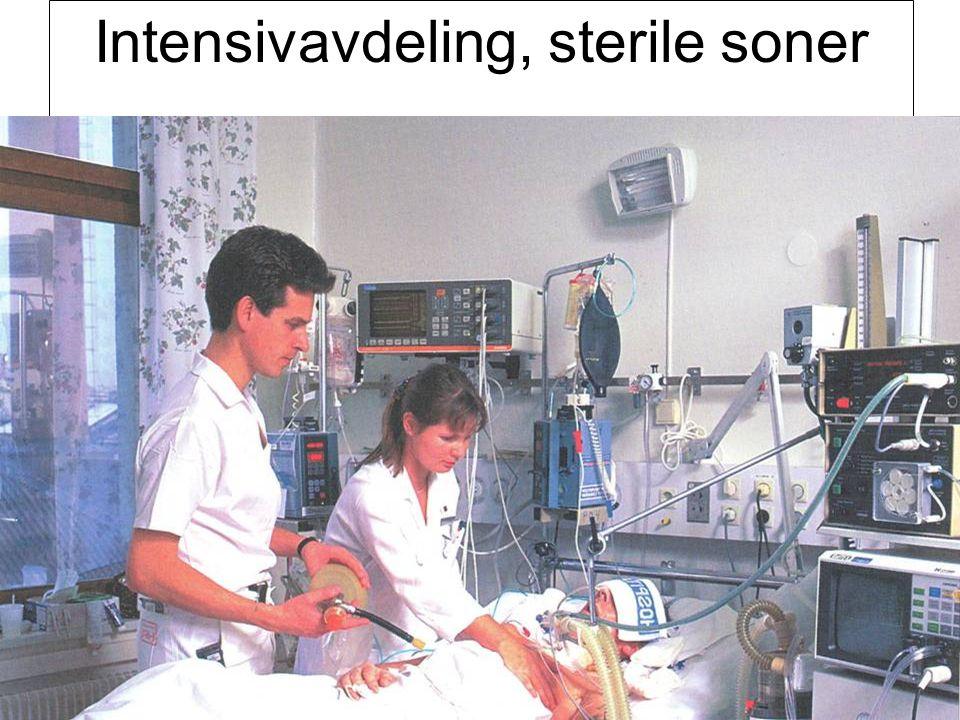 Fysisk institutt - Rikshospitalet 77 Intensivavdeling, sterile soner