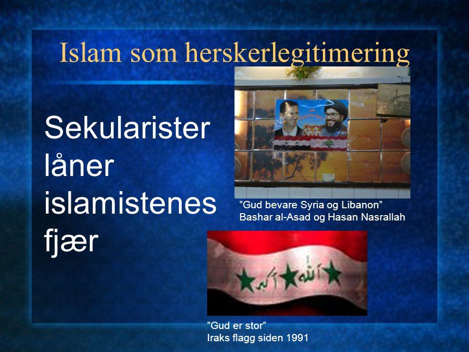 Islam som herskerlegitimering Offentlige bevis på fromhet Mahmud Abbas ber i moskeen Geistlige fatwaer som ryggdekning Muhammad al-Tantawi Mufti av Eg