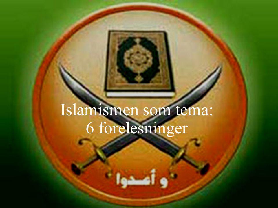 Islamisme? Islamisme er en ideologisk retning som framhever at religionen islam ikke bare berører den enkeltes trosforhold, men inneholder gudegitte r