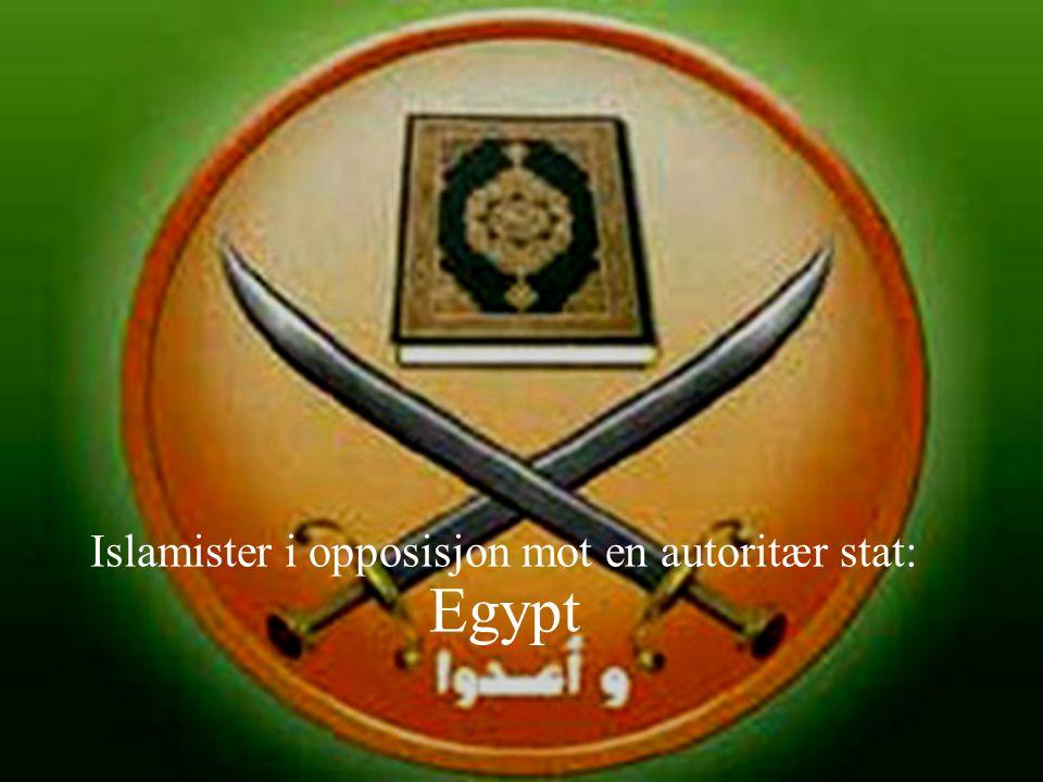 Islamister i opposisjon mot en autoritær stat: Egypt