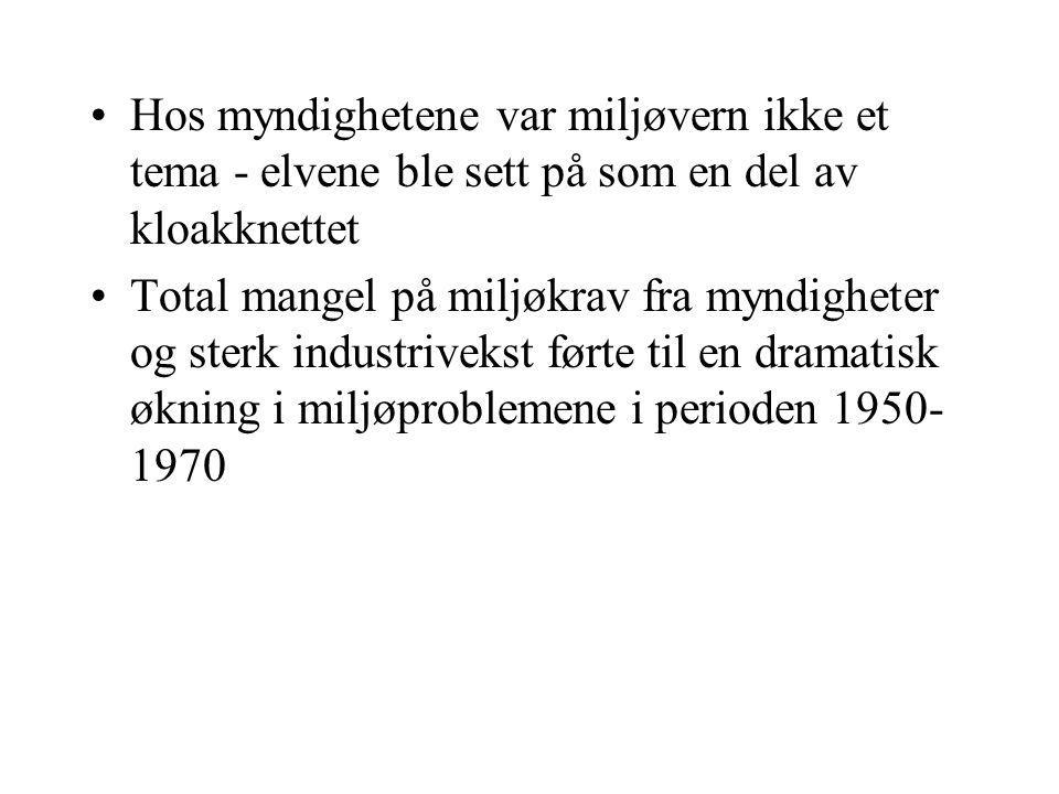 Miljøvern som politisk kampsak Miljøvern ble del av radikaliseringen av ungdom på 1960- og 1970-tallet I Norge ga det seg konkrete utslag i kampen mot utbygging av vannkraft i Mardøla i 1971 og Alta Internasjonalt var kampen mot atomkraft og kjemisk industri viktig