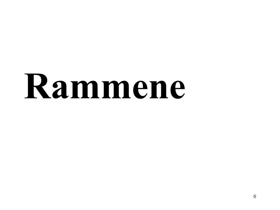 6 Rammene