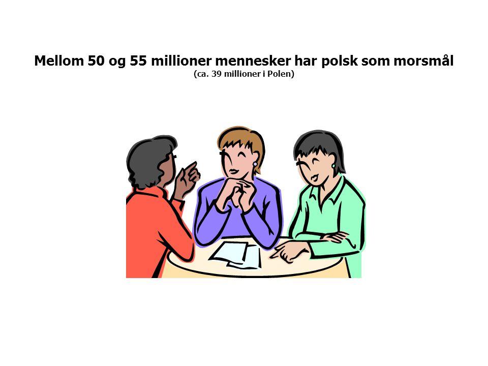 Polske minoriteter i andre land: mellom 14 og 17 millioner mennesker (kilde: poland.gov.pl) USA (6-10 millioner) Tyskland (ca.