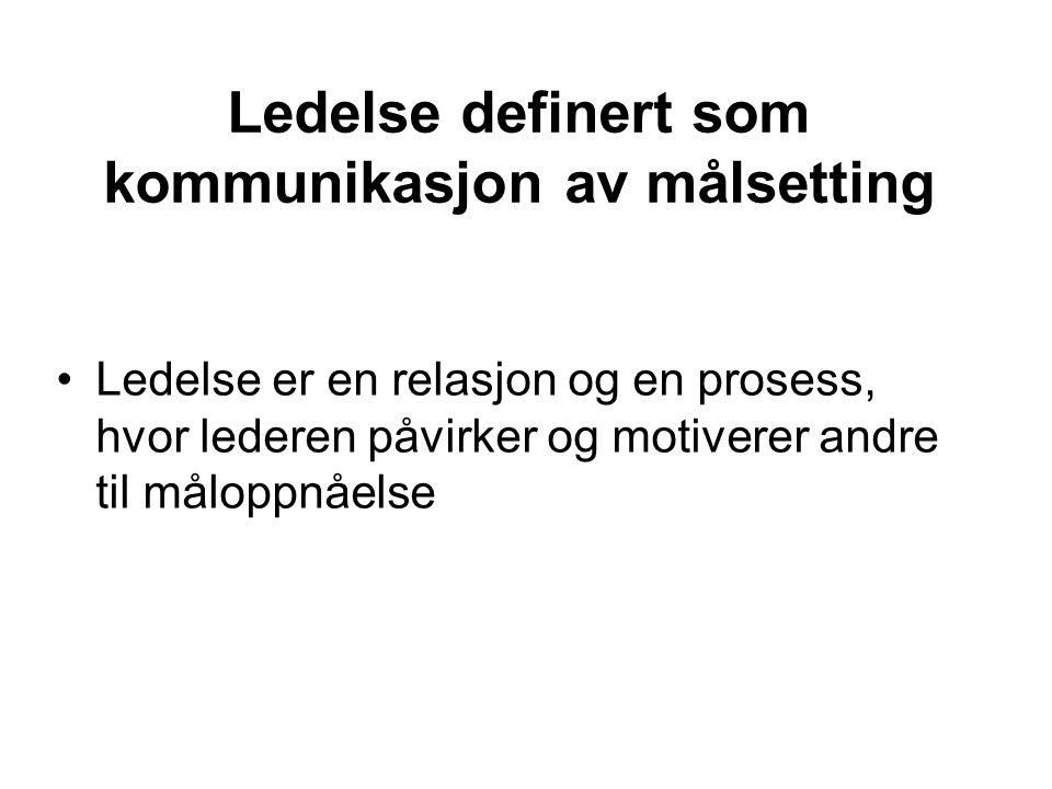 Metateorier (narrativer) om kommunikasjon 1) Formidlingsmetaforen (the conduit metaphor), jf.
