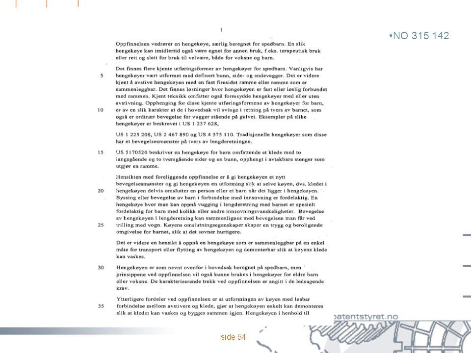 side 54 NO 315 142