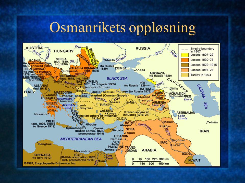 Osmanrikets oppløsning