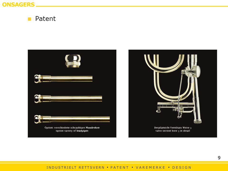 30 Viktige momenter når man vil søke patentbeskyttelse Faktorer/trekk ved et produkt/tjeneste som kan gi konkurransefortrinn og som kan danne ramme for beskyttelse er: —Funksjonalitet —Ytelse —Miljøpåvirkning —Kostnader, både i produksjon og bruk —Pålitelighet —Brukervennlighet