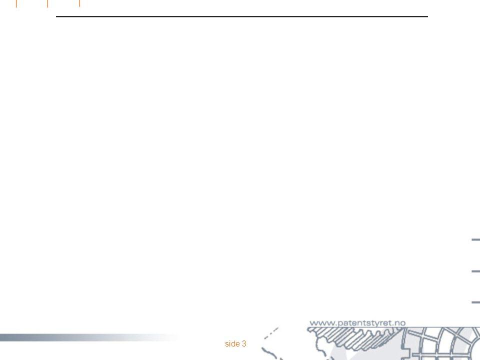 side 33  ethvert produkt  deler av et produkt  grafisk design og dekorasjonsmotiver  sammenstilling av produkter  ikke den delen av designen som er funksjonsbestemt  ikke edb-programmer OPPSUMMERING