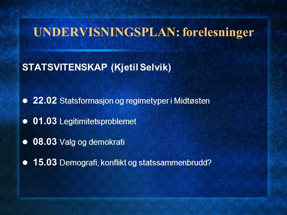 UNDERVISNINGSPLAN: forelesninger ANTROPOLOGI/SOSIOLOGI (Linda Helgesen, Stephan Guth) 12.04 Identitet og tilhørighet.