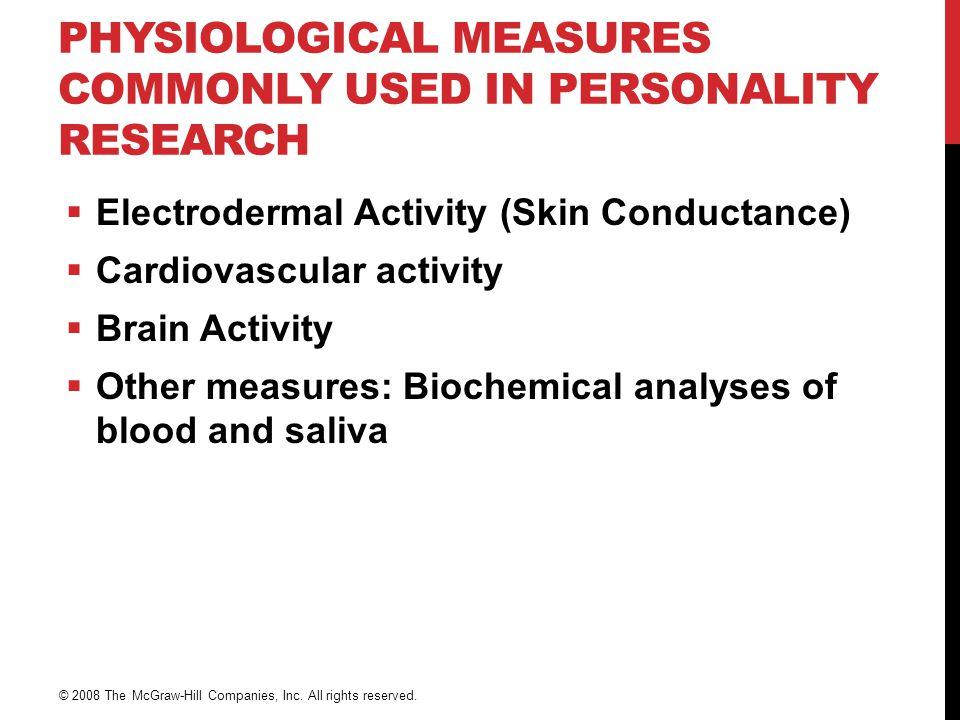 FYSIOLOGISKE MÅLINGER  Hudmotstand (Skin Conductance, Electrodermal Activity) Elektroder eller sensorer på huden  Kardiovaskulær aktivitet Blodtrykk, puls  Hjerneaktivitet Elektroencefalografi, fMRI, PET  Biokjemiske analyser av blod og slim