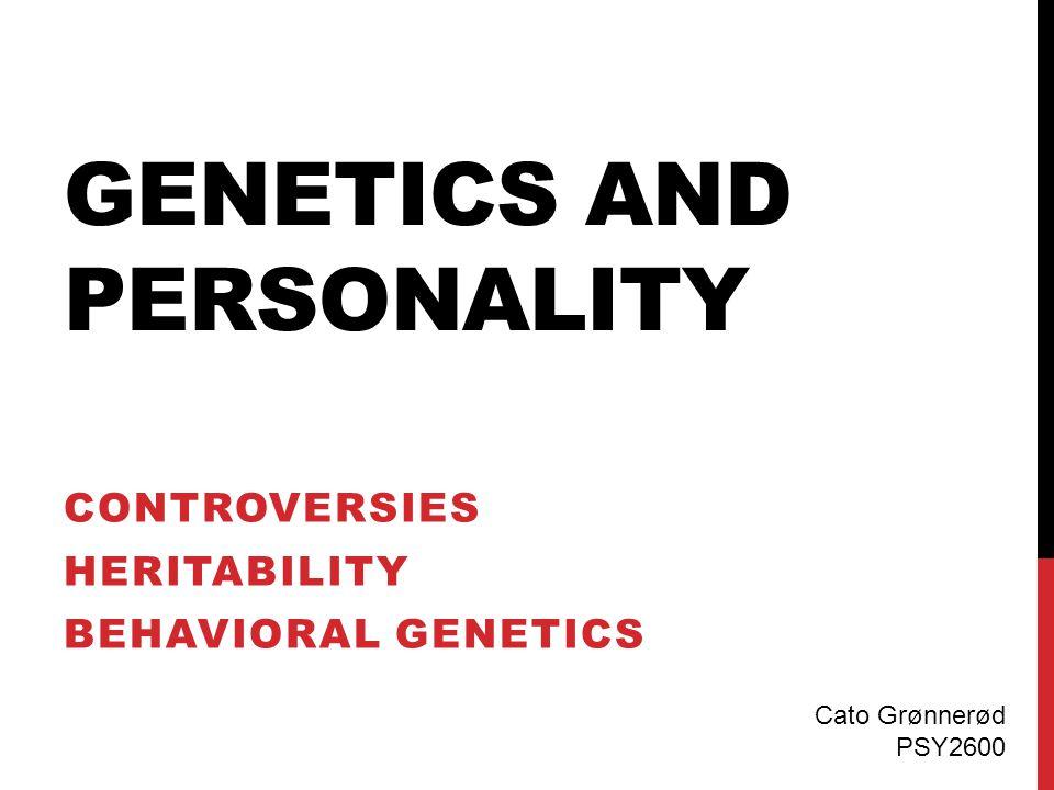 BIOLOGISK PERSPEKTIV  Evolusjonsperspektiv Egenskaper har oppstått som følge av naturlig seleksjon som fremmer ønskede egenskaper  Gener og personlighet Arvelighet for personlighetstrekk  Fysiologi Nevrologiske korrelater og funksjoner  Temperament Byggesteiner for personlighetsutvikling