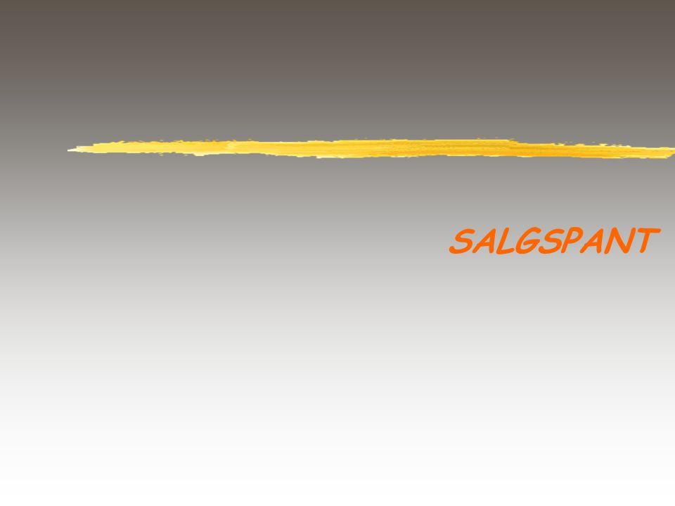 SALGSPANT