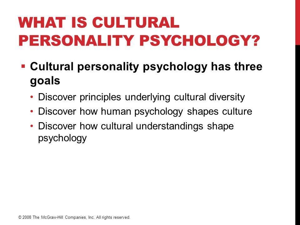 PERSONLIGHETSVURDERING  Er personlighet kun en konstruksjon i vestlig kultur.