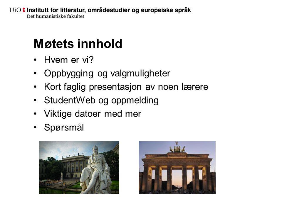 Prioriter grupper/seminar
