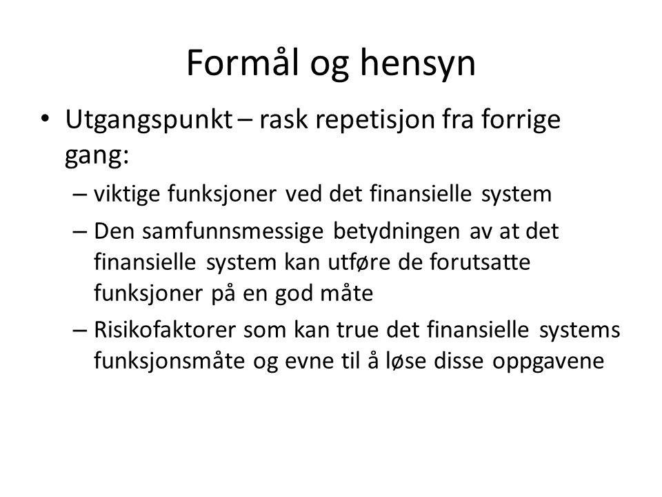 Eksempel - konsesjonskrav Finansieringsvirksomhetsloven (finvl.) § 3-3: Finansieringsforetak kan ikke drive virksomhet uten tillatelse av Kongen.