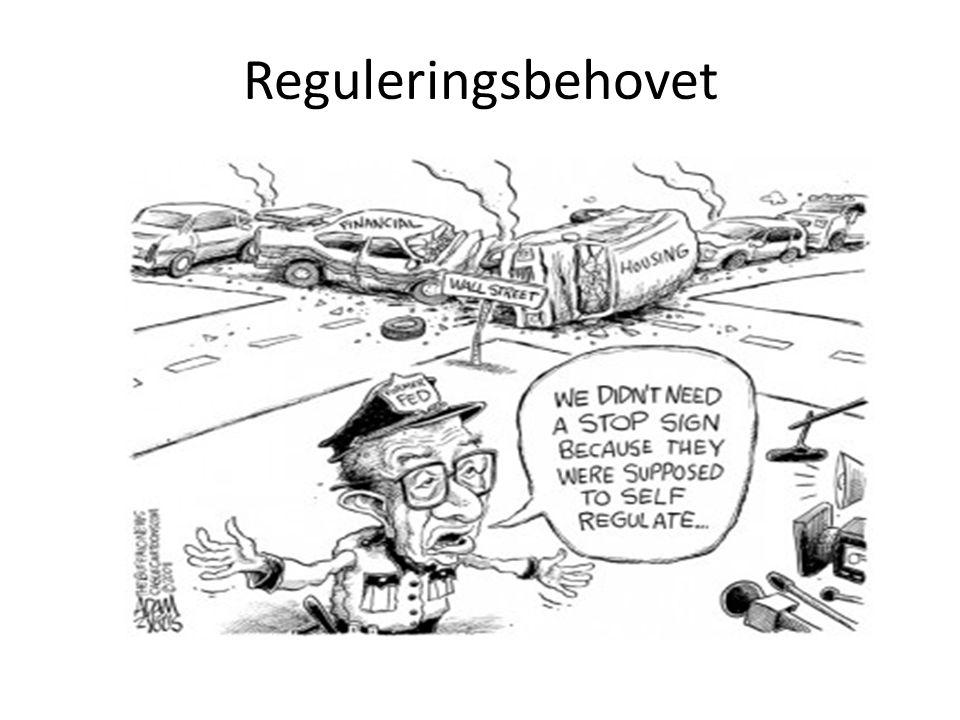 Hva begrunner reguleringsbehovet, og ikke minst den store mengden av regulering.