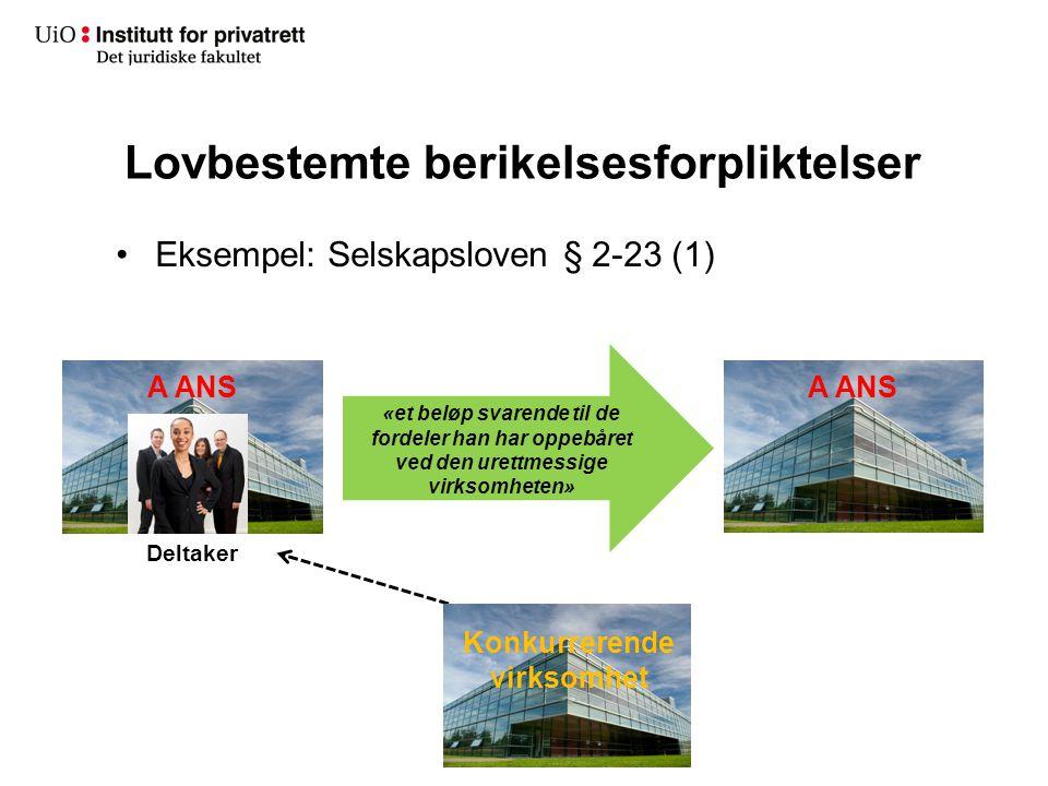 Direktekrav Kontraktsretten Innhald av yteplikta Når skal det ytast.