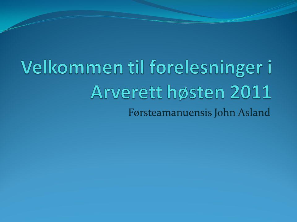 Førsteamanuensis John Asland