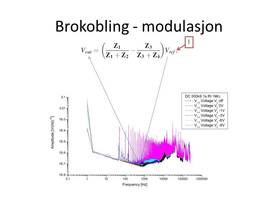 Brokobling - modulasjon !