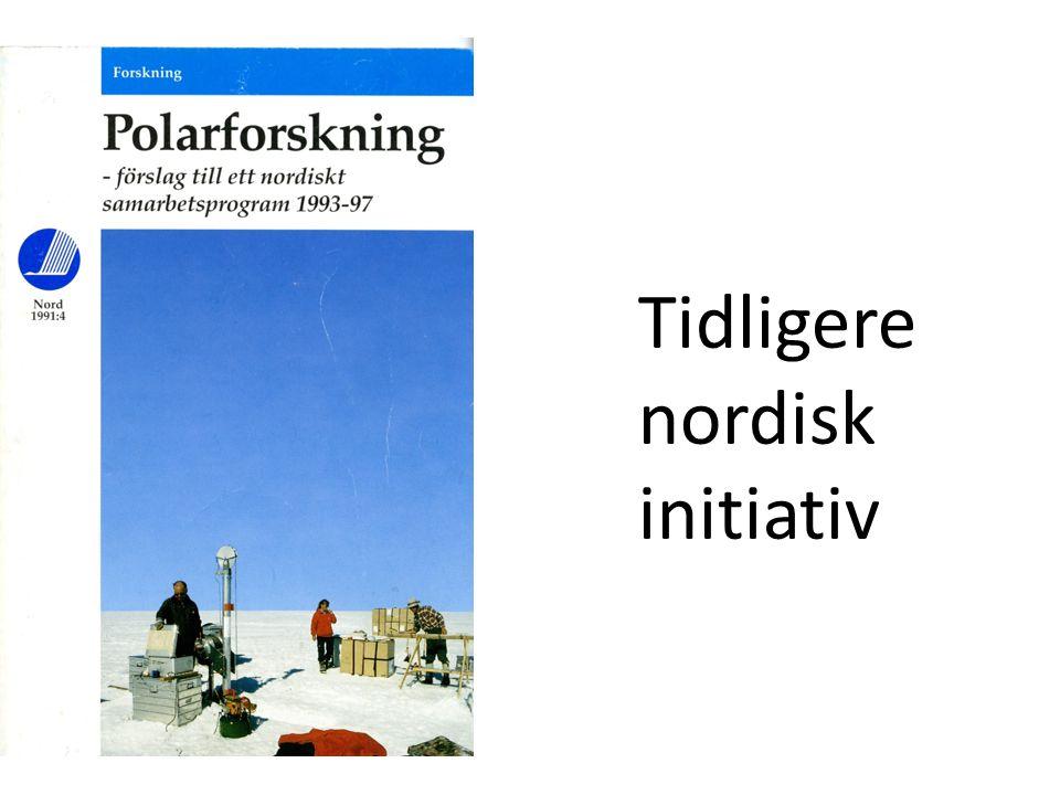 Tidligere nordisk initiativ