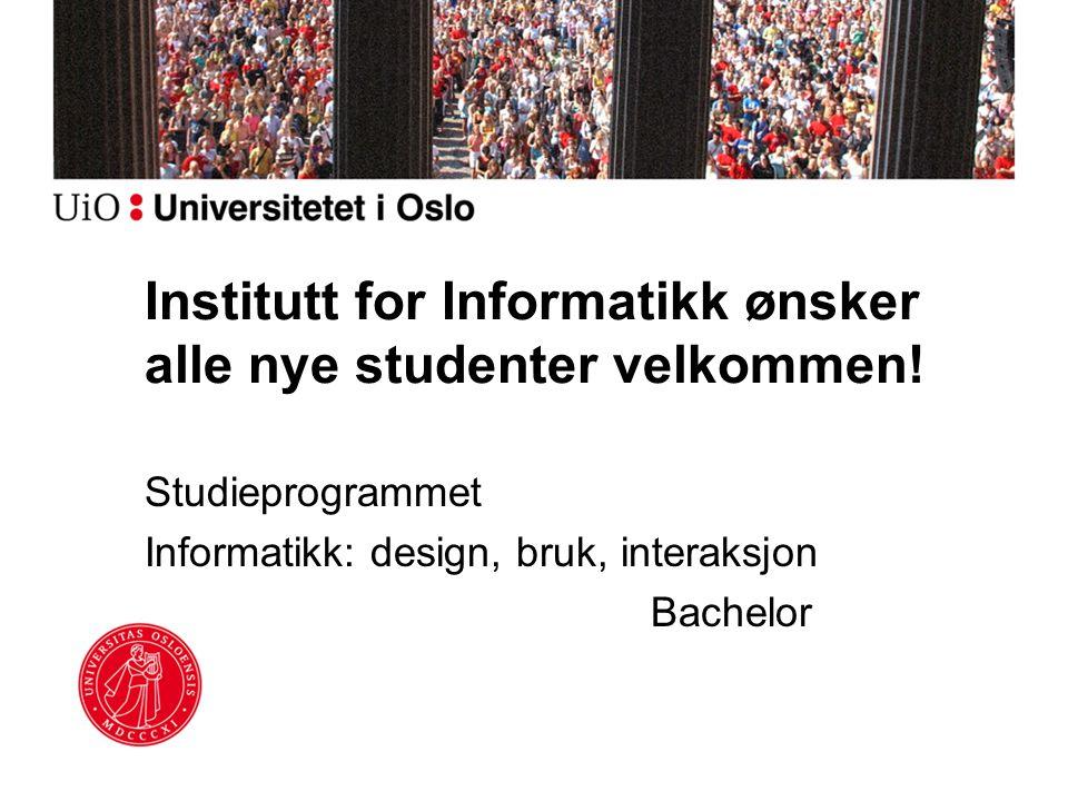 Informatikk design bruk interaksjon (bachelor)
