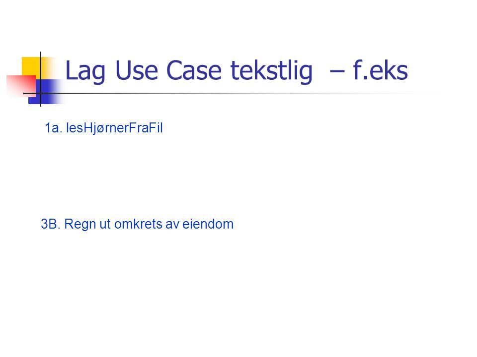System Sekvens Diagrammer, Use Case Diagrammer ?