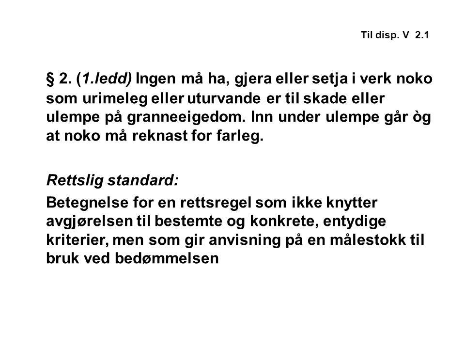 Til disp.V 4.2 § 2 (3.
