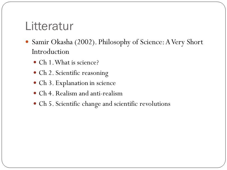 Hva er vitenskap.