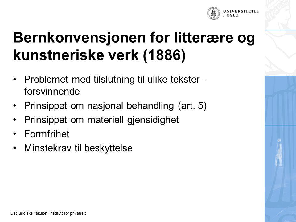 Det juridiske fakultet, Institutt for privatrett Andre lands rett - særlig Norden Hensynet til nordisk rettsenhet - tilsier sterk vektlegging av retts
