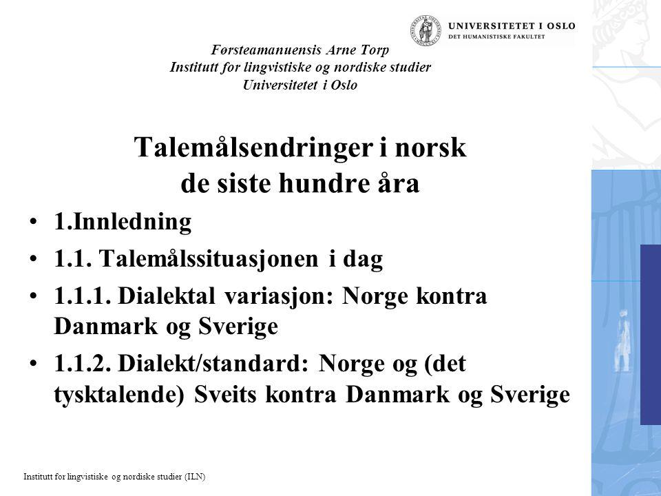 2.4.1.2.Konsonanter a) Innføring av sj-lyd (/š/) (på Sør- og Vestlandet) 2.4.2.
