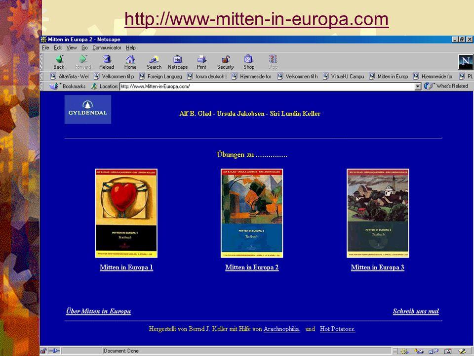 MITTEN IN EUROPA 1-2-3 Siri Lundin Keller15 http://www-mitten-in-europa.com