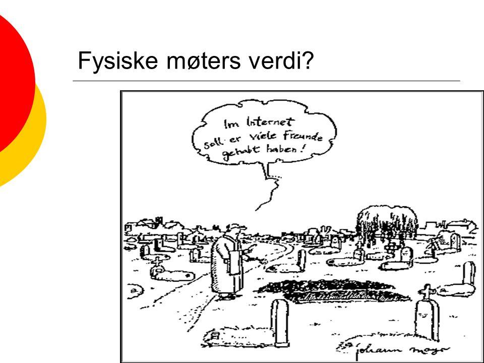 Siri Lundin Keller - ILS Språkdagene i Bergen 200353 Fysiske møters verdi?