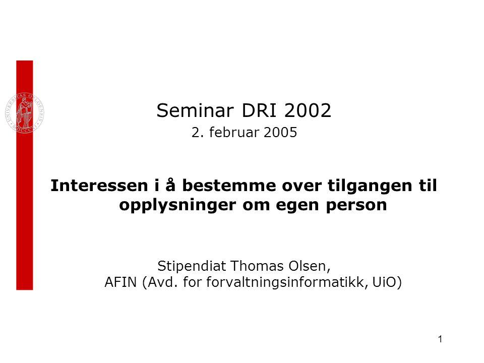 1 Seminar DRI 2002 2.