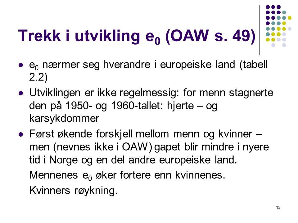 19 Trekk i utvikling e 0 (OAW s.