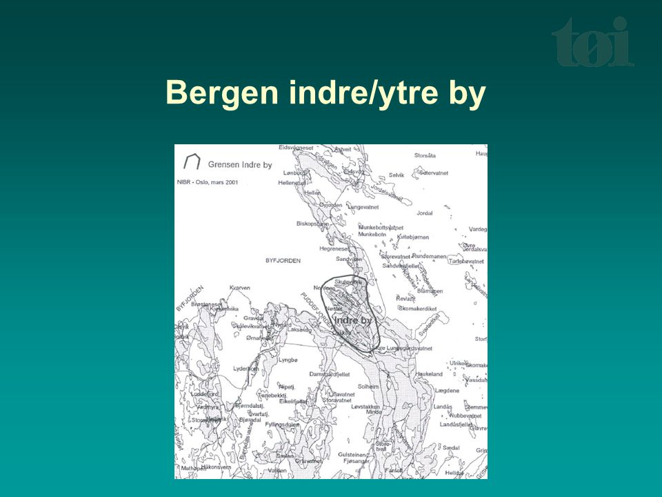 Trondheim indre/ytre by