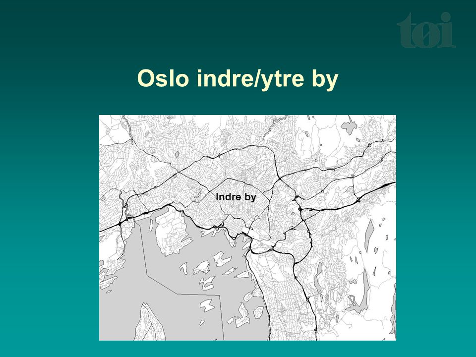 Gentrifisering – teori A) Rent gap (Smith)  Utfordring: Hvordan forklare investeringer i boliger i upopulære bo-områder.