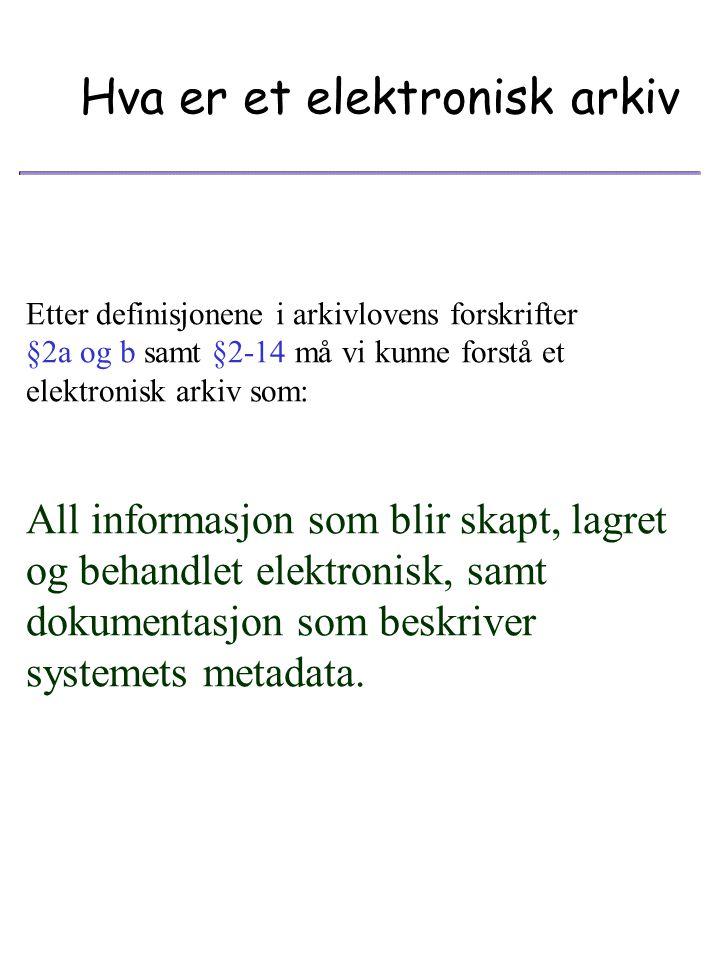 """Verktøy Dataformater Maskiner/utstyr Metadata Kompetanse """"@ Se og tolke Det fysiske og det psykiske arkiv"""