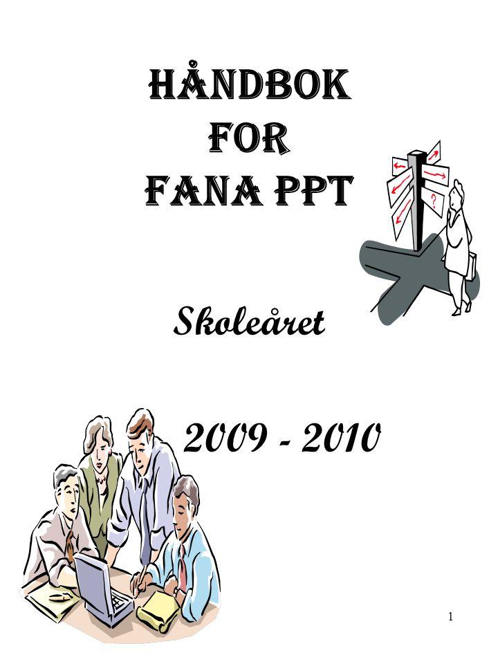 22 FANA PPT – møteplan våren 2010 DatoMøteHvor Januar 4..