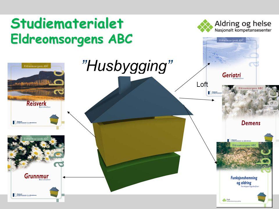 "Studiematerialet Eldreomsorgens ABC ""Husbygging"" Loft"